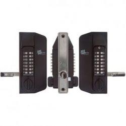 Digital Gate Lock - Borg 3150 BTB Keypads Black - BL3150GATE