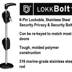 Locking Drop Bolt - D&D Lokk Bolt