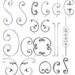 Fence scrolls - S scroll C scroll