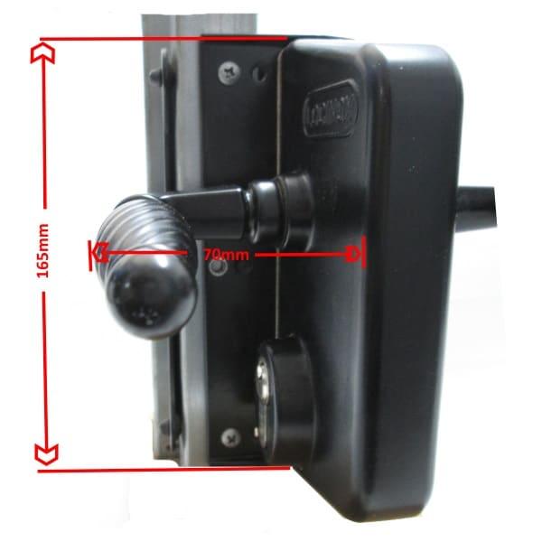 Locinox Face Mount Kit mounting screws
