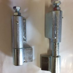 BW165S heavy duty steel weld on hinges