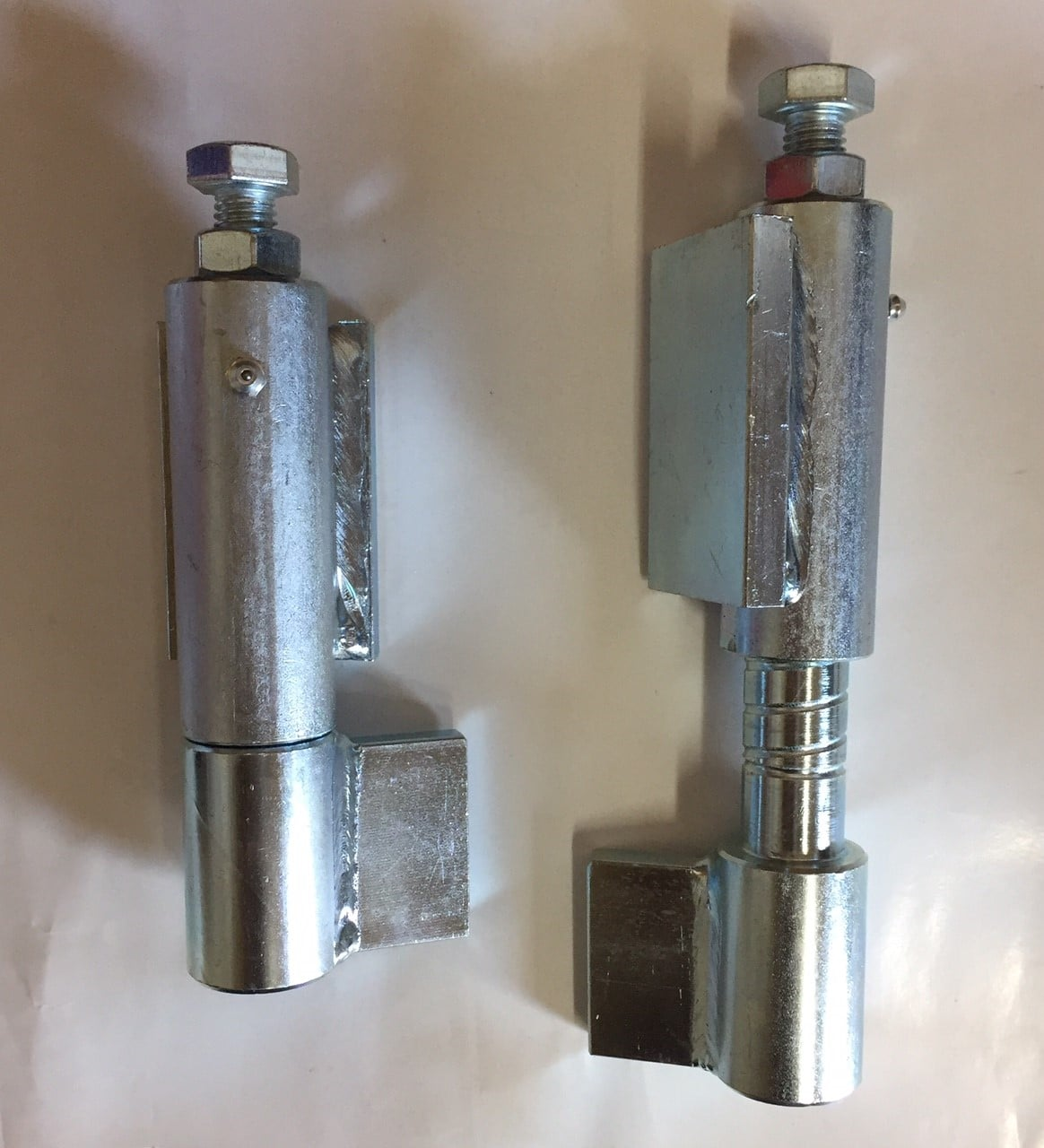 BW165S heavy duty steel weld on ball bearing hinges