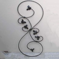 Wrought Iron Scroll Style Baluster - 52/1H