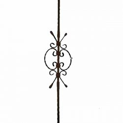 Scroll style baluster 910mm