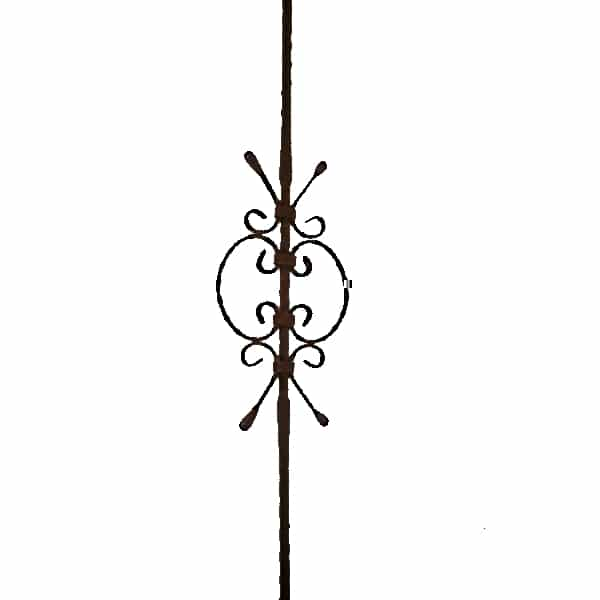 Scroll Style Baluster - B33 ART64/G/1/1000