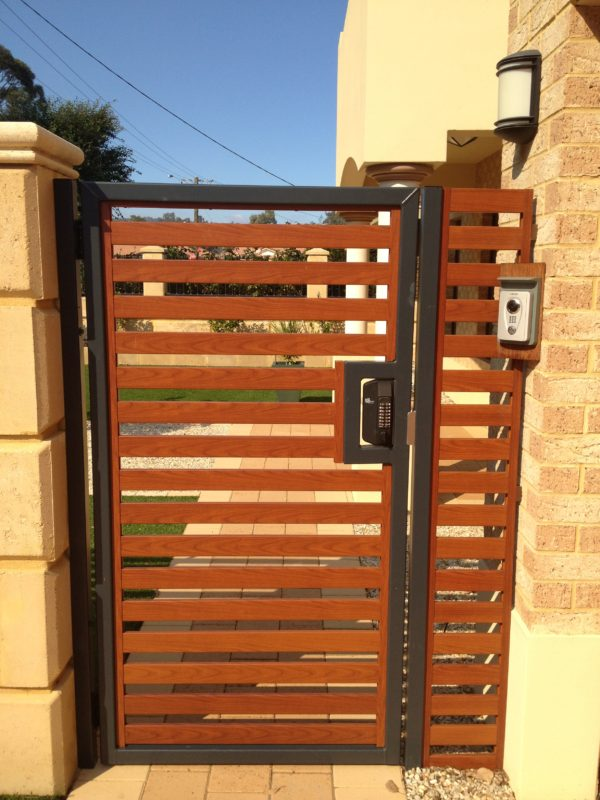 Digital Gate Lock Borg Bl3100blk Gate And Fence