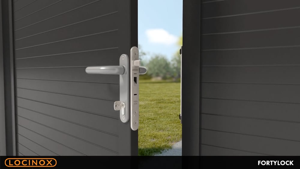 Locinox Fortylock on gate