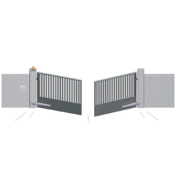 stand gates residential masonry alone swing or gate total standalone