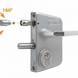 Locinox Mill finish lock LLAPQ10