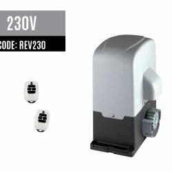 DEA REV230 sliding gate motor with remotes