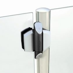 TrucClose D&D Vizage Glass Gate Hinges TCAV1-PSS