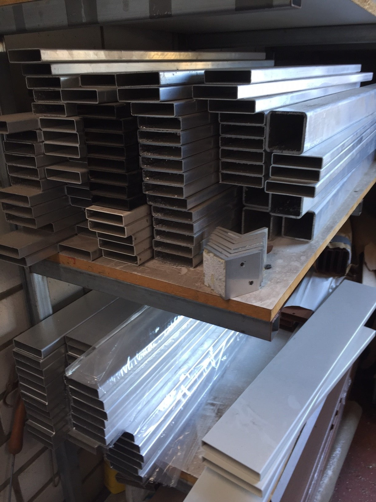 65x16 aluminium mill finish slat