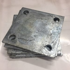 F100SP Steel weld on flange plate