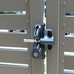 D&D LL Lokk Latch Double Sided Key Locking Series - Gate and