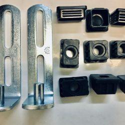 TGP230 steel L hinges