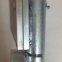 BW165A Aluminium backed steel ball bearing hinges