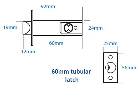 Borg BL2000-Series-tubular-latch-Line-drawing (1)
