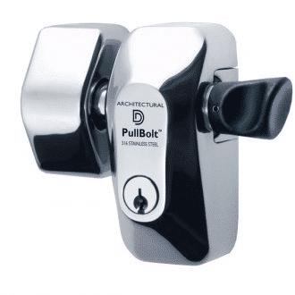 D&D FORTE PULLBOLT FACE MOUNT FPBSSFM-L