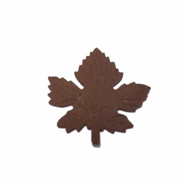 ART709 Decorative pressed maple leaf