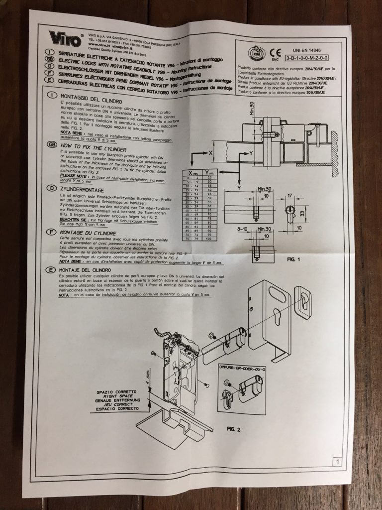 Viro AAC-PLA10 instructions 1