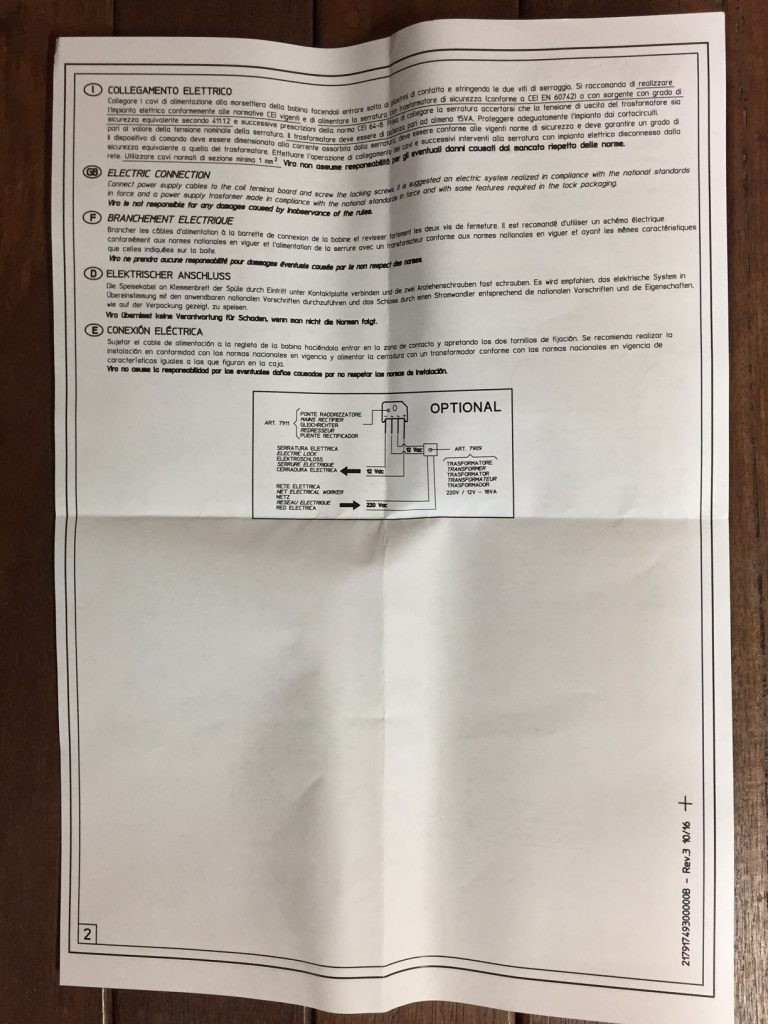 Viro AAC-PLA10 instructions 2