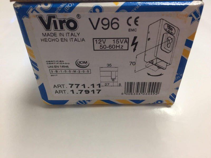 Viro V96 AAC-PLA10 Box end