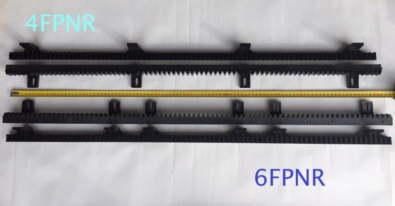 4FPNR - 6FPNR Stagnoli gear rack
