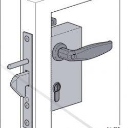 Sliding Gate lock - Comunello Parrot Beak