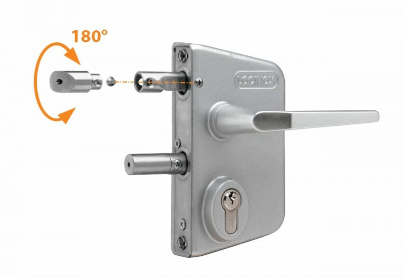 Locinox Mill finish lock LLAPQ10