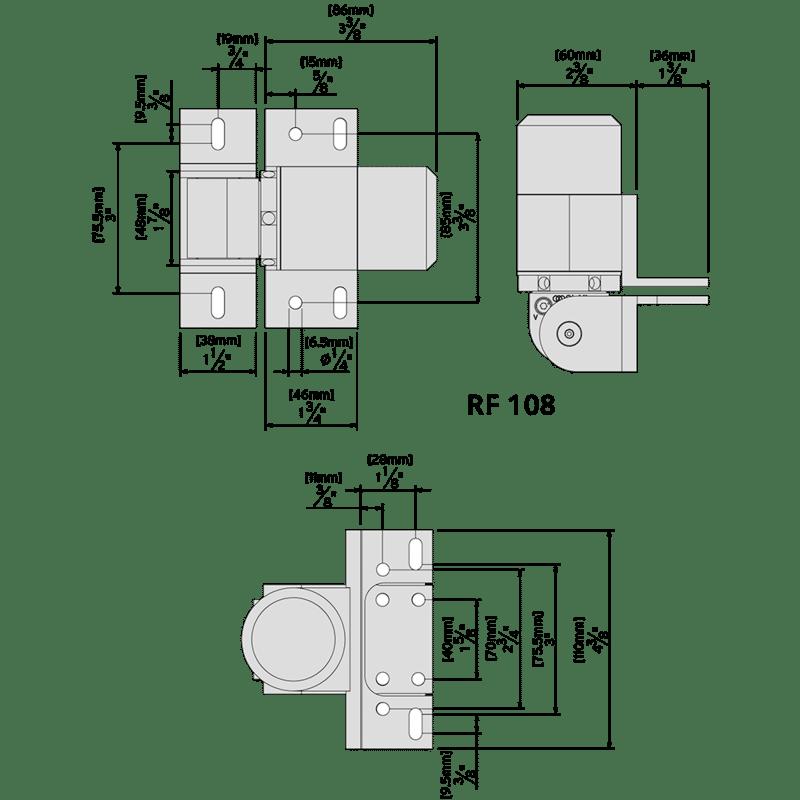 RF108SFW 74108325T ReadyFit D&D closer