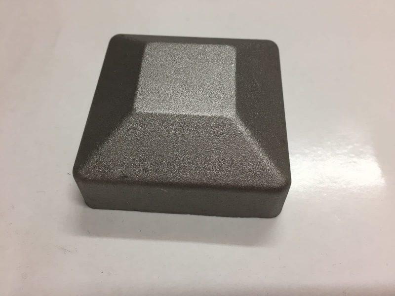 5050AFLAT 50x50mm aluminium post cap