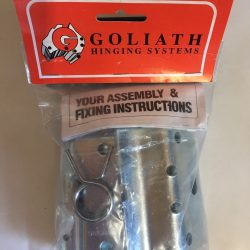 G108SBPZNR Goliath sprung ball bearing hinges Front
