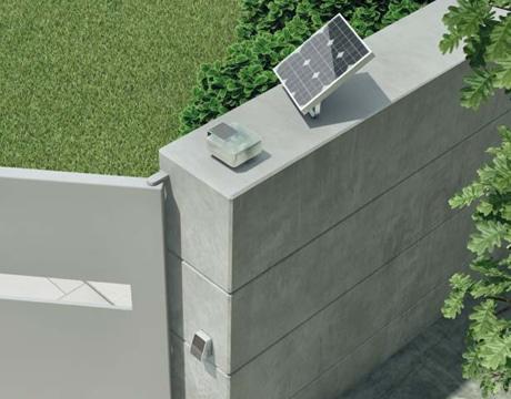 Mhouse Solar kit in situ