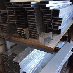 65x16 aluminium mill finish slat