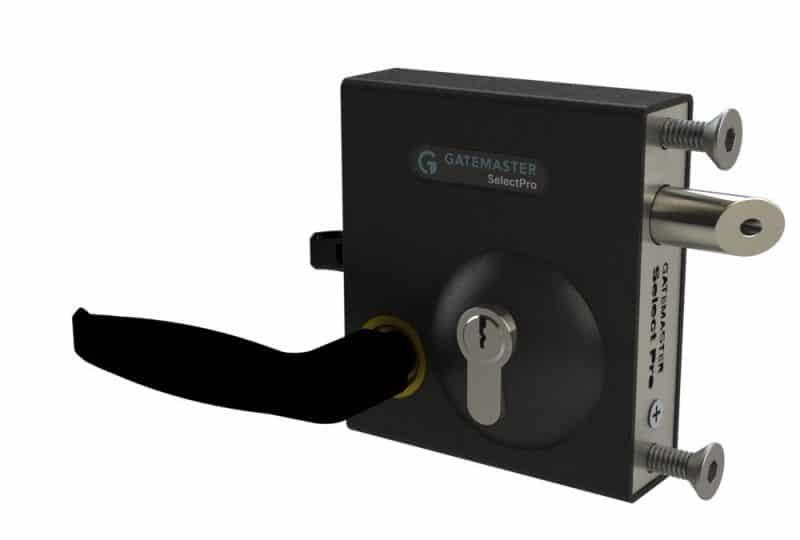 SBLD1602 smooth black handle