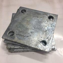 F100SP Steel weld on flange plate