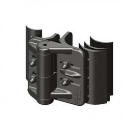 DPH240 Adjustable Tension Hinges suit Round Post