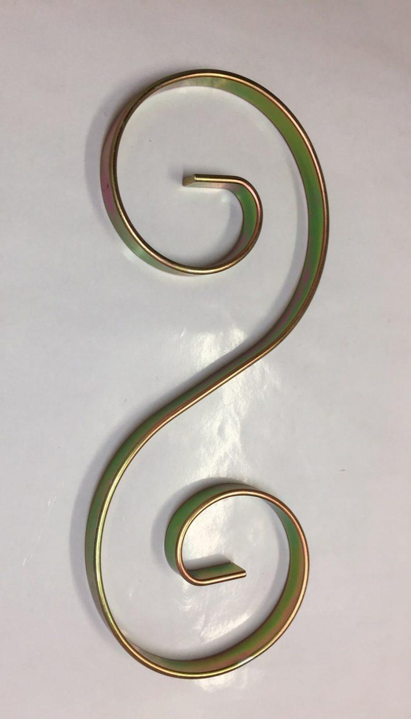 Dhp54 Zinc Coated Steel S Scroll