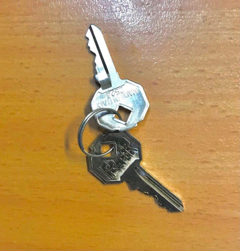 DEA manual release keys