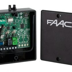 faac-two-channel stand alone receiver-787747