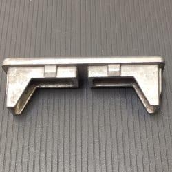 AC03113MF aluminium end cap suit 65x16mm
