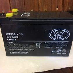 CENTSYS 7.2 Amp Hour 12Volt Gate Battery