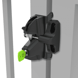 D&D LokkLatch Plus Gate Latch LL3PWD