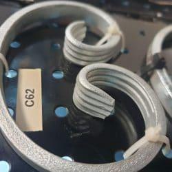 C62 wrought iron scroll