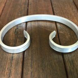 ACS150100 aluminium c scroll