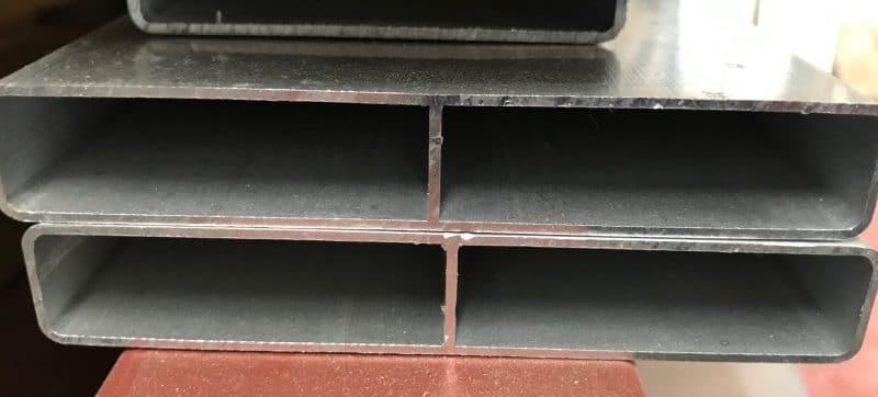 100x16mm mill finish aluminium slat