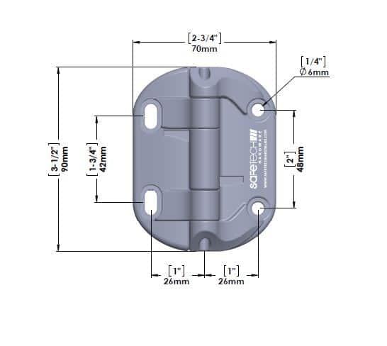 shn-90L Safetech hine dimensions